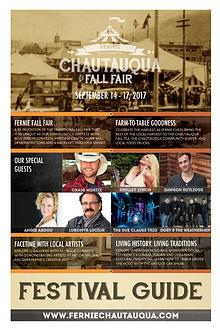 Chautauqua Fall Fair Guide