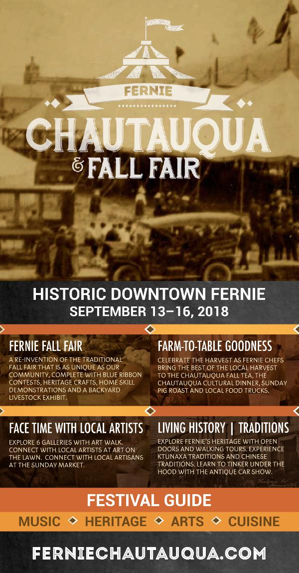 Chautauqua Fall Fair Guide 2018 Festival Guide