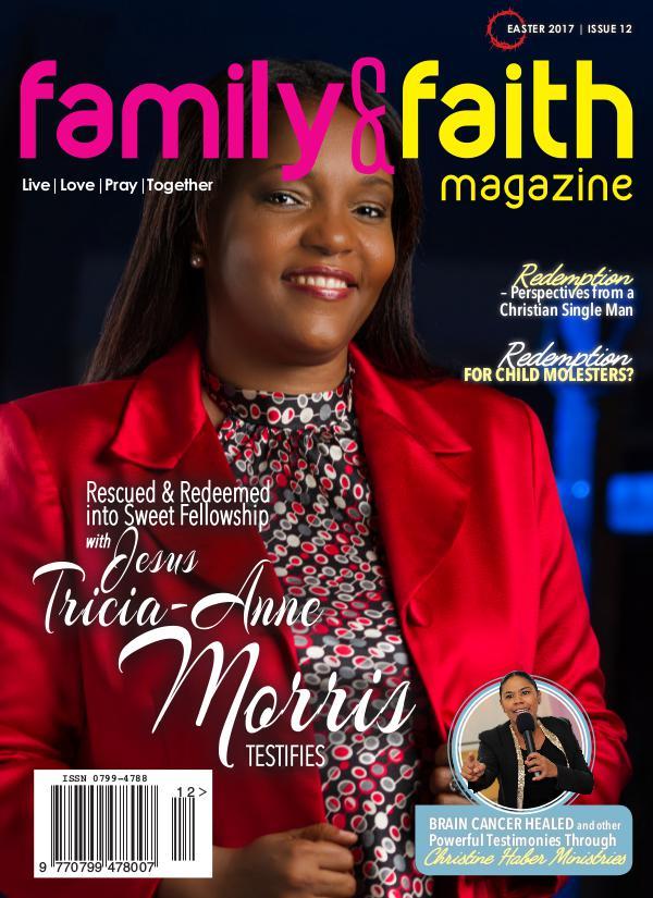 Family and Faith Magazine Easter, 2017