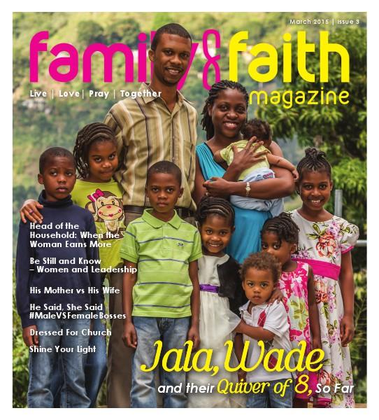 Family and Faith Magazine March 2015