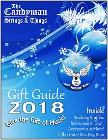 The Candyman Strings & Things 2018 Holiday Gift Guide