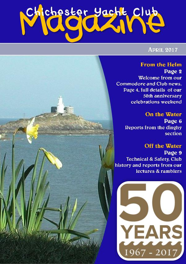 Chichester Yacht Club Magazine April 2017