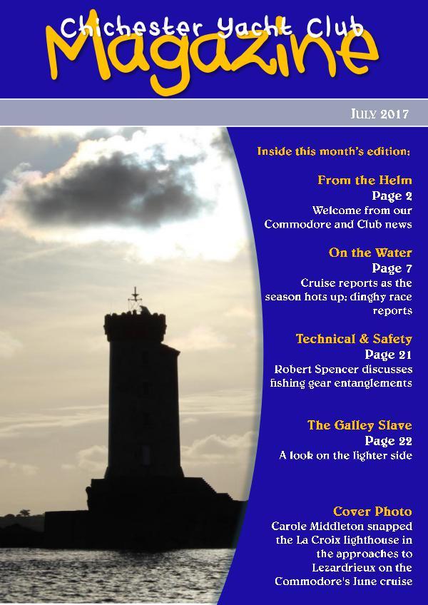 Chichester Yacht Club Magazine July 2017