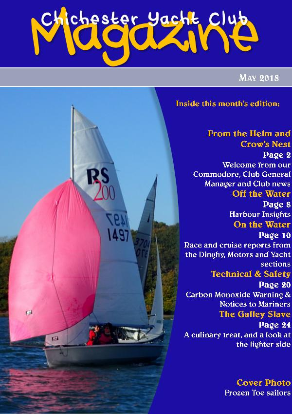 Chichester Yacht Club Magazine May 2018