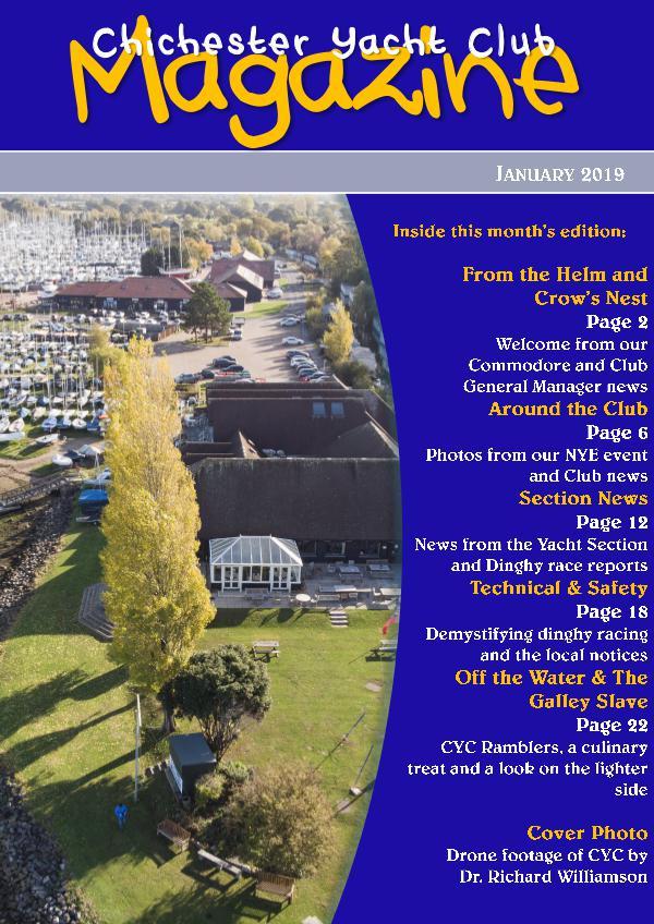 Chichester Yacht Club Magazine January 2019
