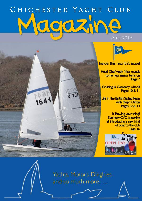 Chichester Yacht Club Magazine April 2019