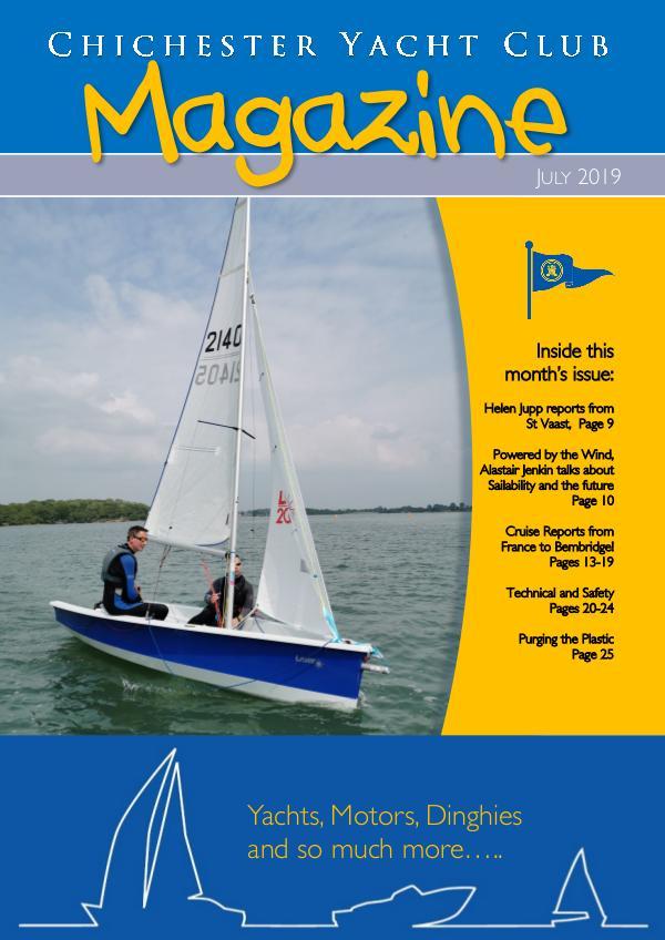 Chichester Yacht Club Magazine July 2019