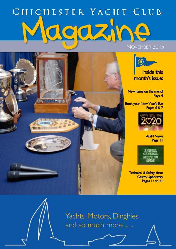 Chichester Yacht Club Magazine November 2019