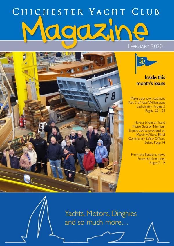 Chichester Yacht Club Magazine February 2020