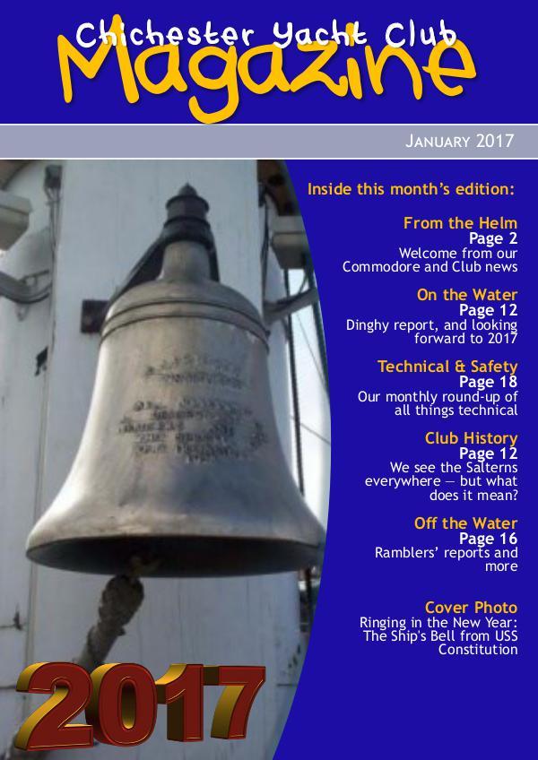 Chichester Yacht Club Magazine January 2017