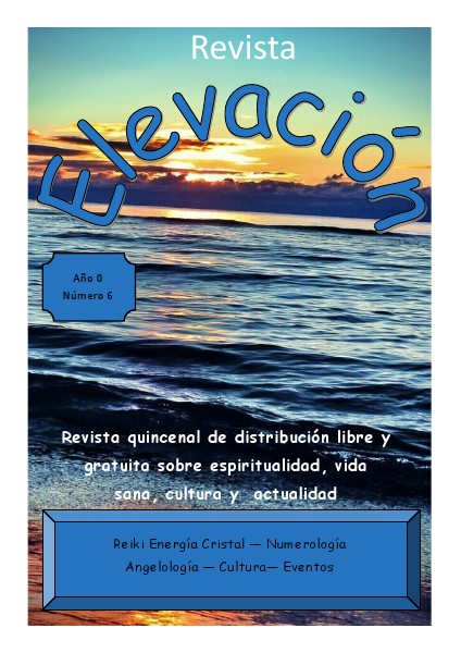 Revista Elevación Nº6, Marzo 2015, 2ª Quincena.