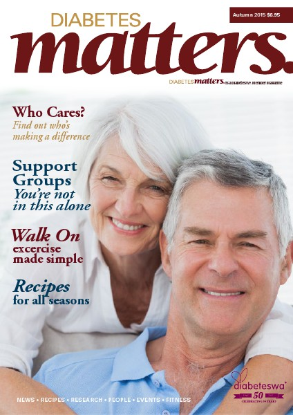 Diabetes Matters - online subscriptions are no longer available Autumn 2015