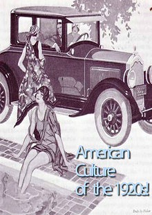 """""""American Culture of the 1920s"""""""