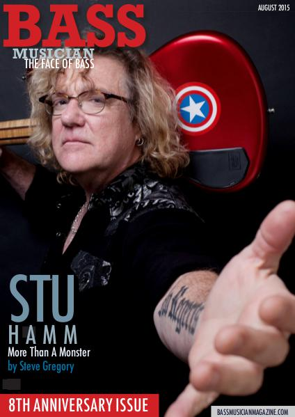 Bass Musician Magazine - 8th Anniversary Issue with Stu Hamm