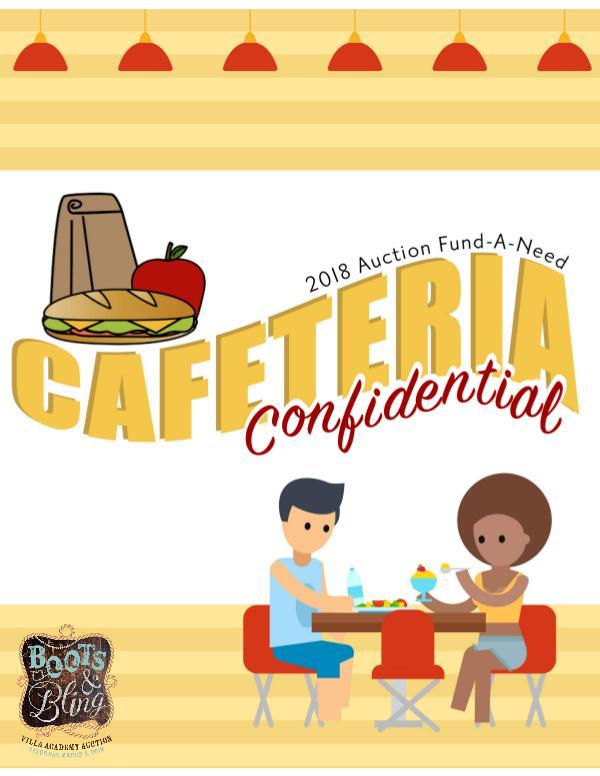 FAN 2018 - Cafeteria Confidential FAN-2018-Bookletforjoomag