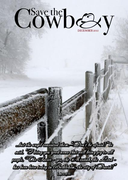 Save The Cowboy 1 December 2015