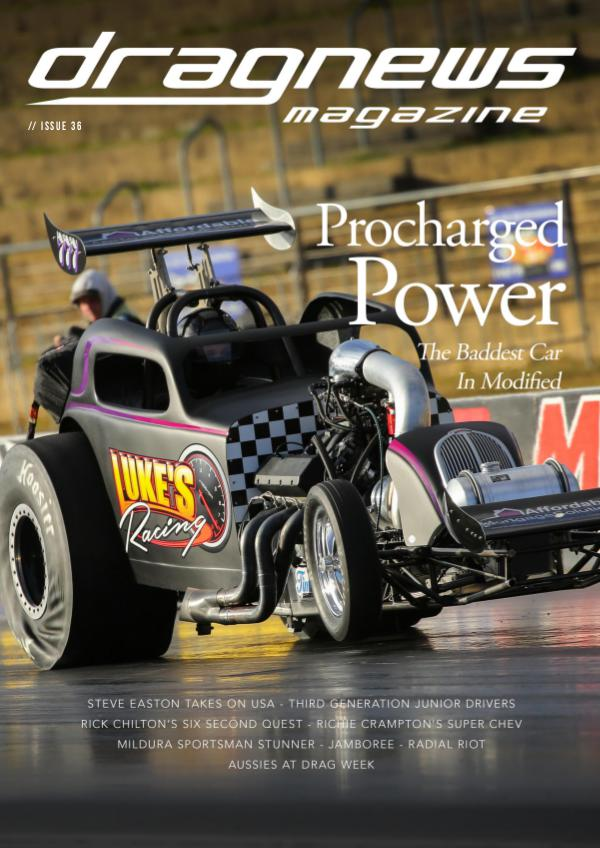 Drag News Magazine Issue 36