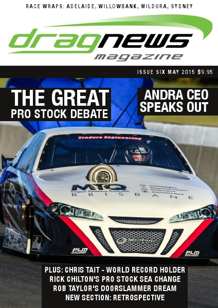 Drag News Magazine May 2015