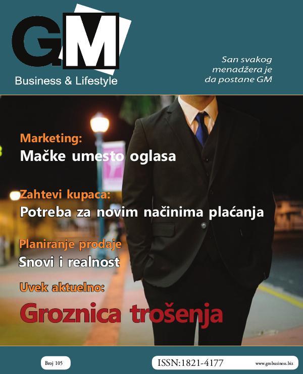 GM Business & Lifestyle # 105 broj 105