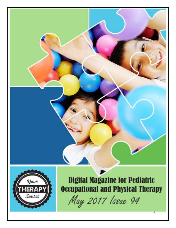 May Your Therapy Source Magazine 2017