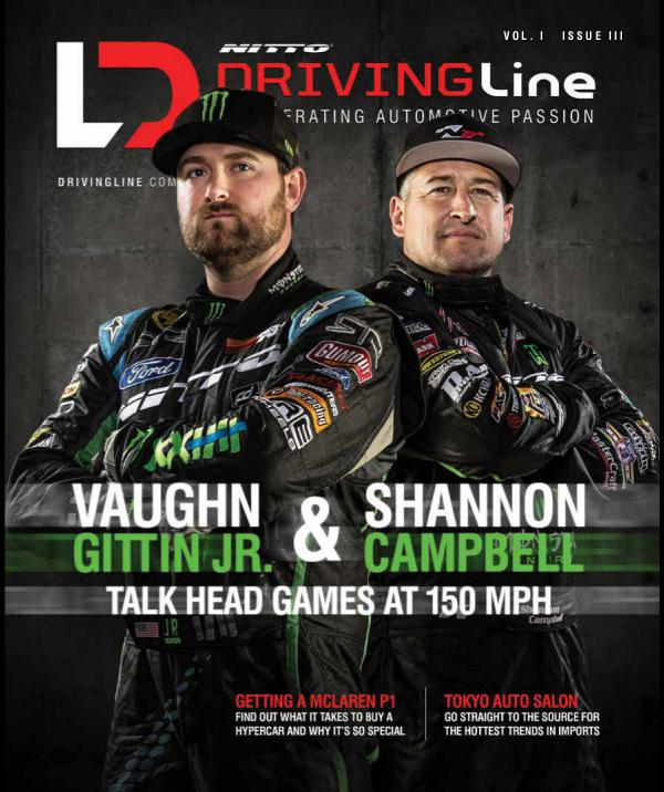 Driving Line VOLUME I ISSUE 3 | SPRING 2015