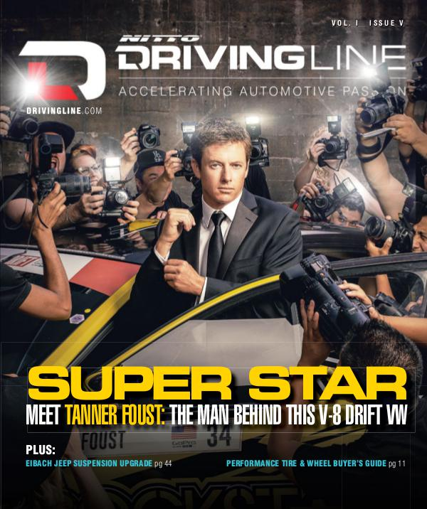 Driving line magazine cover