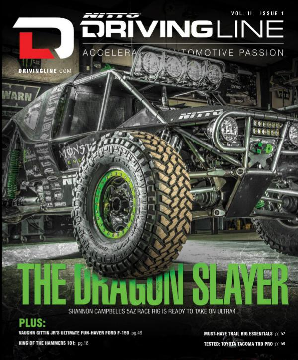 Driving Line VOLUME II ISSUE 1 | WINTER 2015