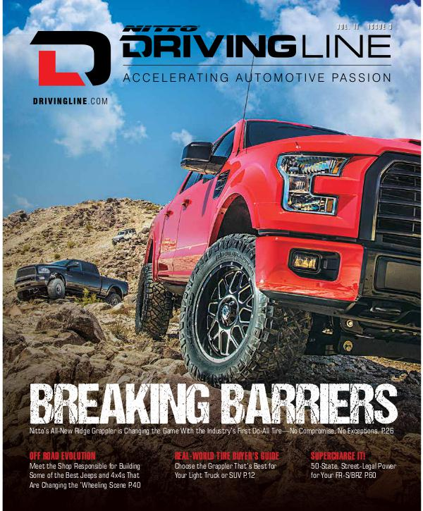 Driving Line VOLUME II ISSUE 3 | SUMMER 2016