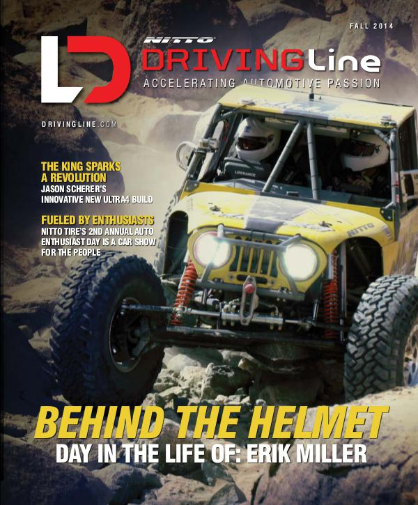 Driving Line VOLUME I ISSUE 1 | FALL 2014