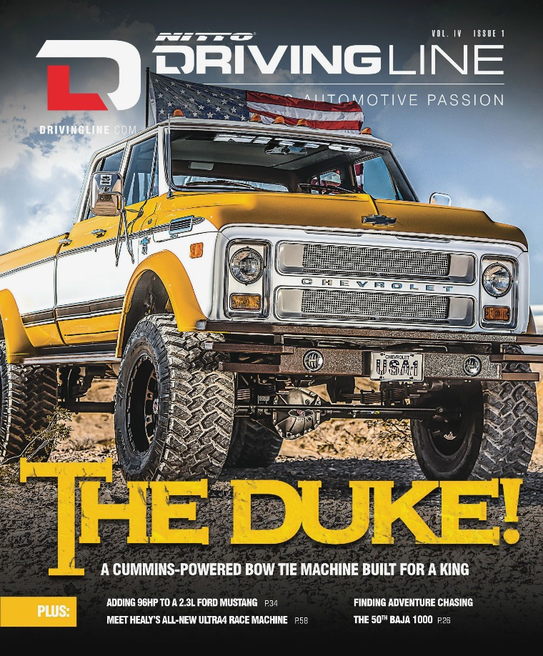 Driving Line VOLUME IV ISSUE 1 | WINTER 2018