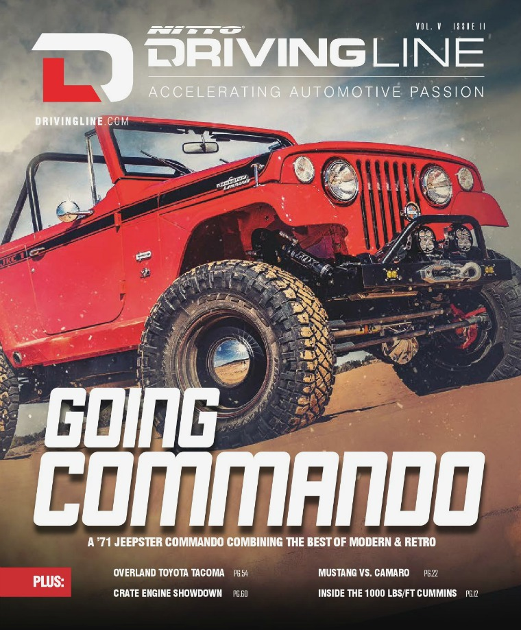 Driving Line VolumeV Issue 2 | Spring 2019