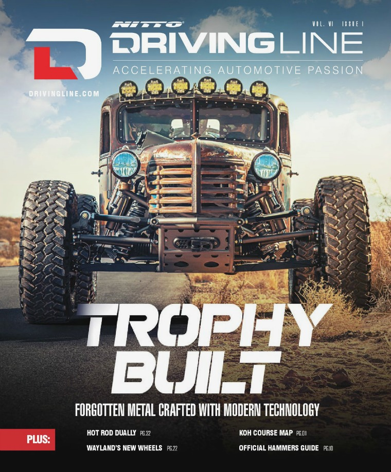 Driving Line VOLUME VI ISSUE 1 | WINTER 2020
