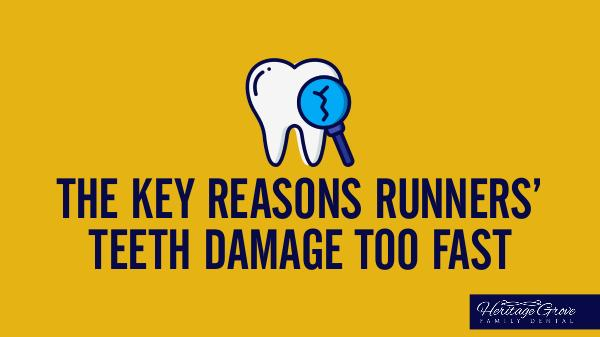 Plainfield Dental Care The Key Reasons Runners' Teeth Damage Too Fast