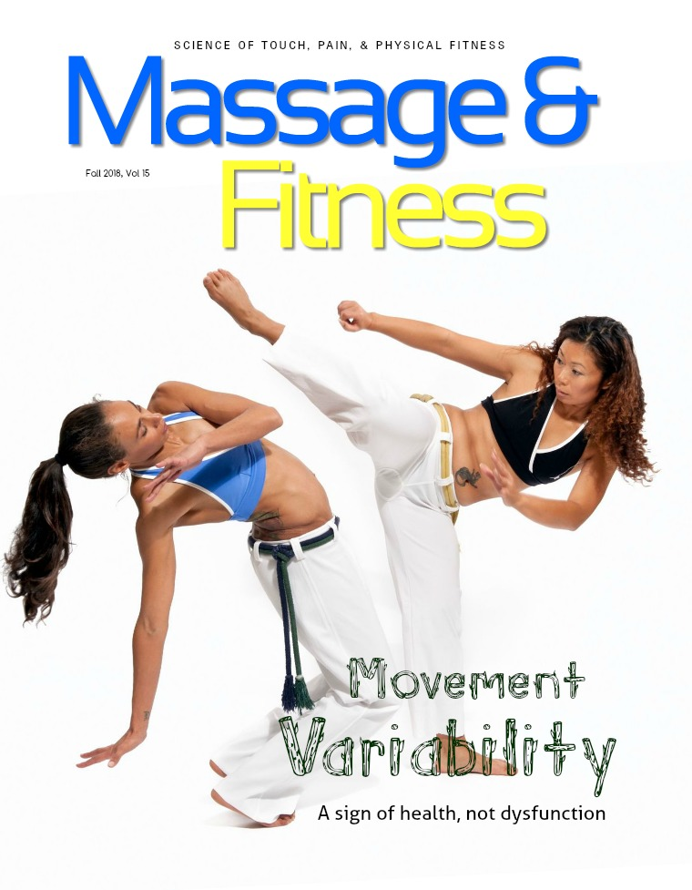 Massage & Fitness Magazine Fall 2018