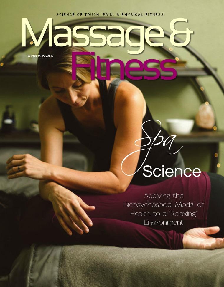 Massage & Fitness Magazine Winter 2019