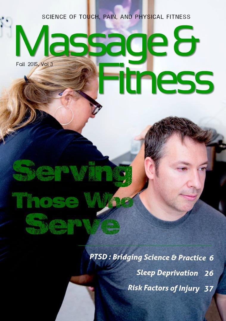 Massage & Fitness Magazine Fall 2015