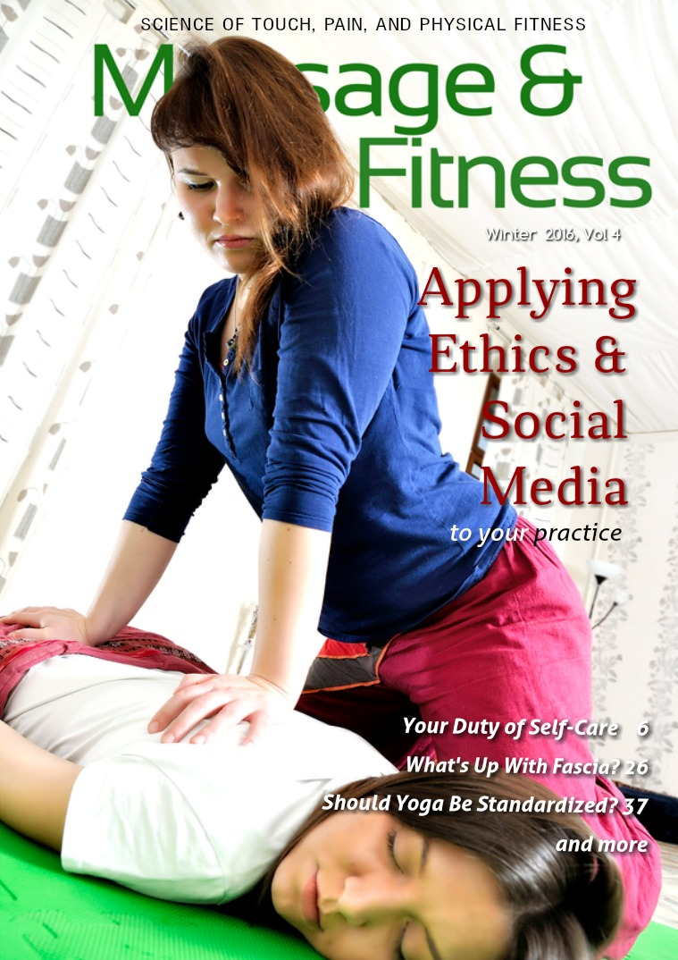 Massage & Fitness Magazine Winter 2016