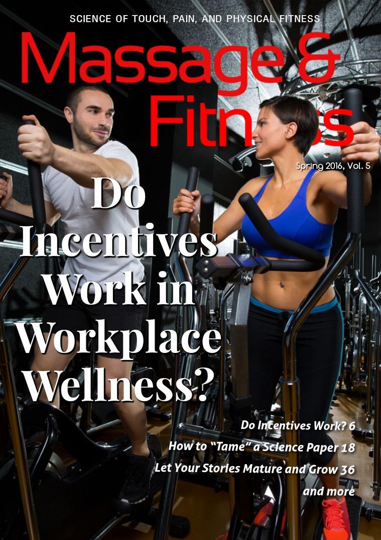 Massage & Fitness Magazine Spring 2016