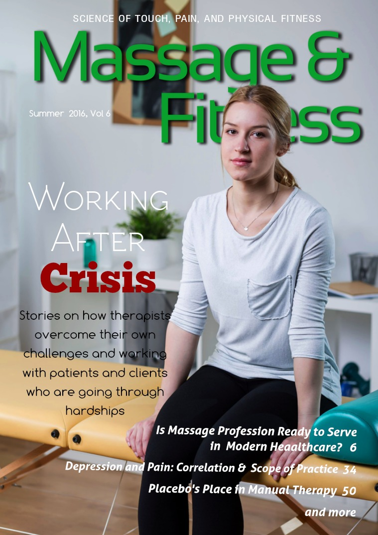 Massage & Fitness Magazine Summer 2016