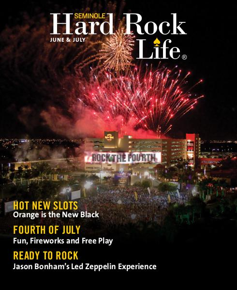Seminole Hard Rock Life June/July Edition