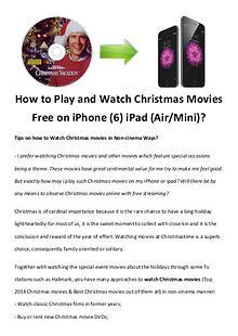 Best Christmas Movies/Songs