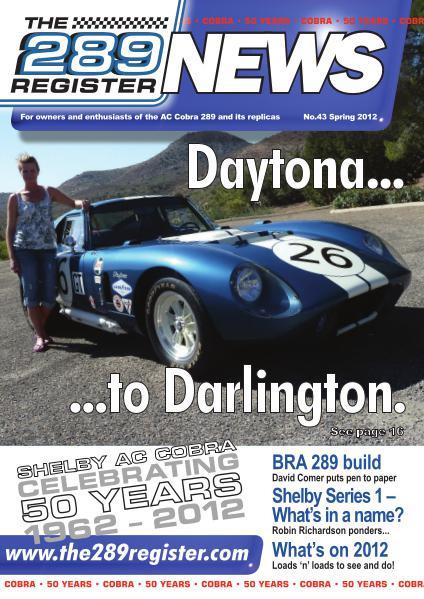 The 289 Register News No 43 Spring 2012