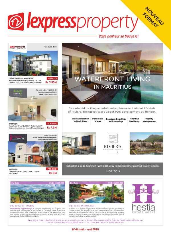 Lexpress Property Magazine N°46 Avril-Mai 2018