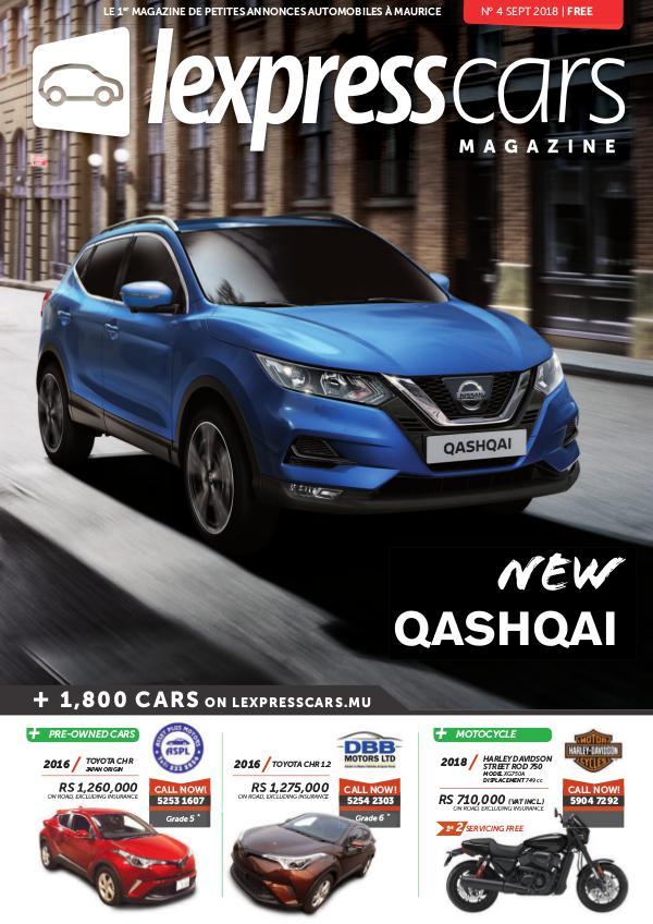 Lexpress Cars Magazine N°4 Sept 2018