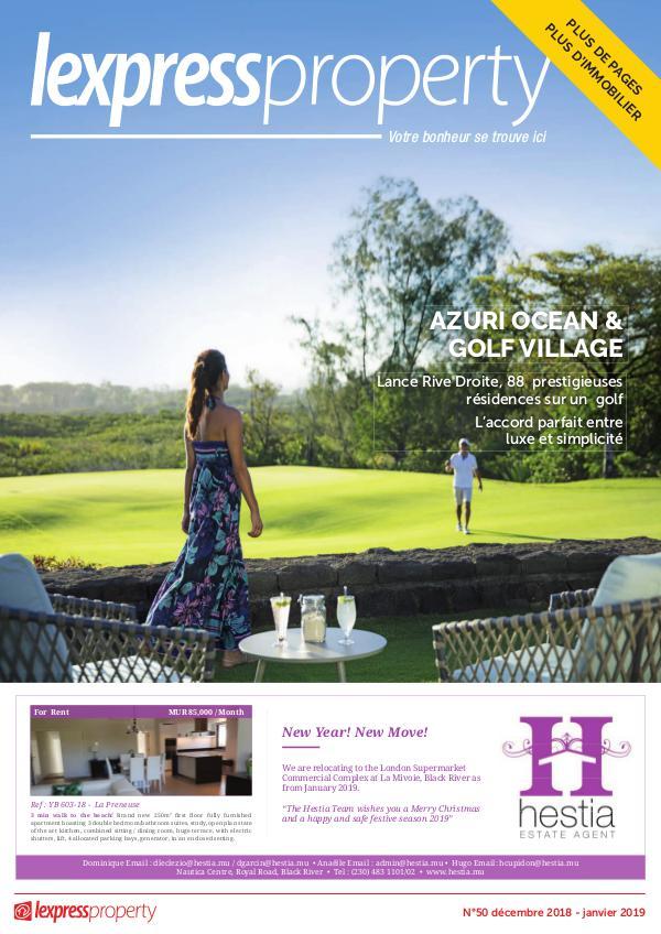 Lexpress Property Magazine N°50 Decembre-Janvier 2018
