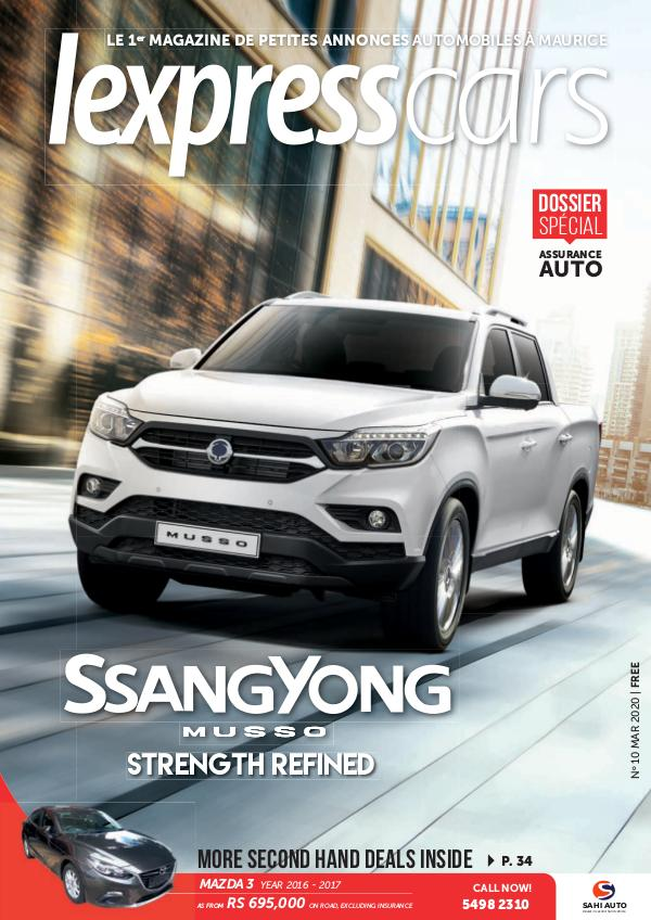 Lexpress Cars Magazine N°10 Mars 2020