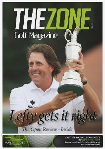The Zone Interactive Golf Magazine (UK) The Zone Issue 24