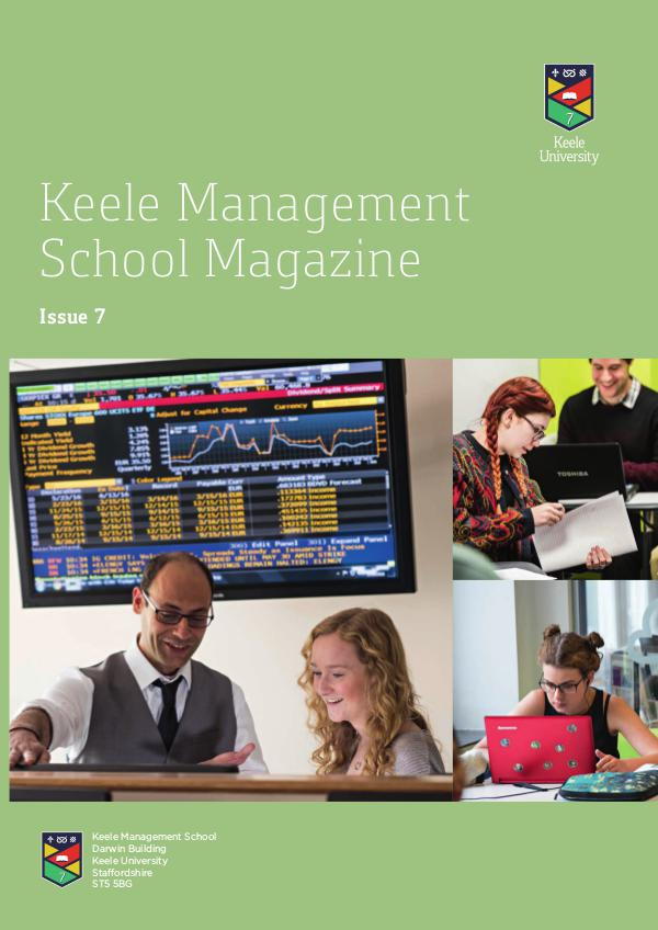 Keele Management School Magazine Issue 7