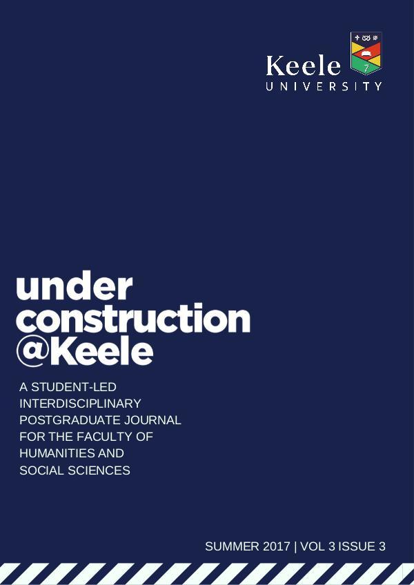 Under Construction @ Keele Under Construction @ Keele Vol. III (3)