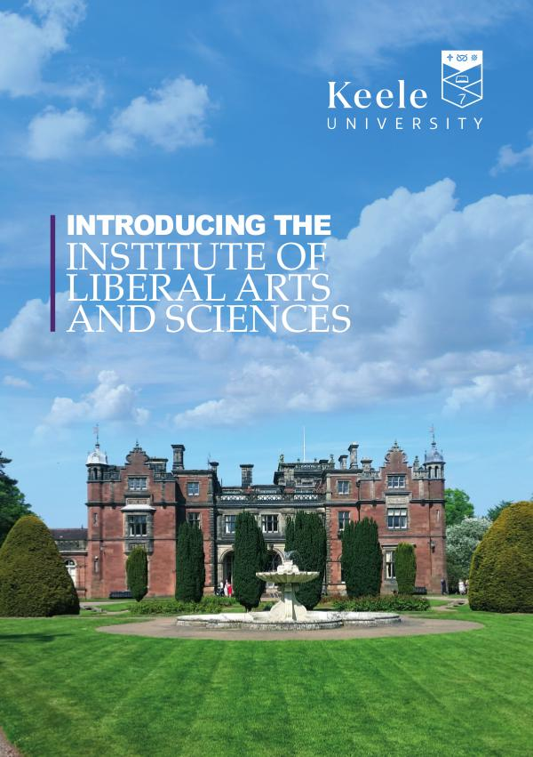 ILAS 2018 Liberal Arts and Sciences introductory brochure